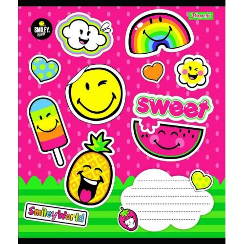 А5/18 лин. 1В Smile Sweet, тетрадь ученич. 762378