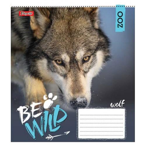 А5/60 лин. 1В Be wild, тетрадь ученич. 762808