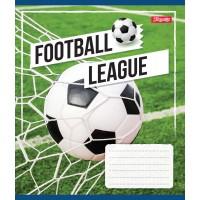 А5/18 кл. 1В Football League, тетрадь ученич.