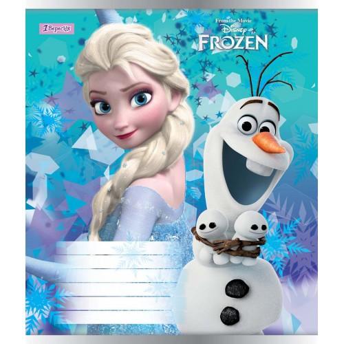 А5/12 кос. 1В Frozen-2018, тетрадь ученич. 761836