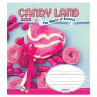 А5/18 кл. 1В Candyland, тетрадь ученич.