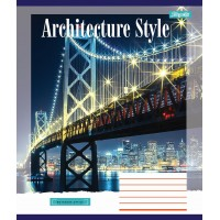 А5/60 лин. 1В Architecture city, тетрадь ученич.