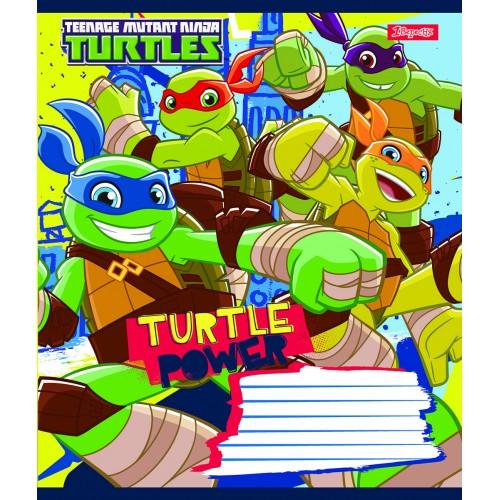А5/12 лин. 1В Turtle Power, тетрадь ученич. 762918