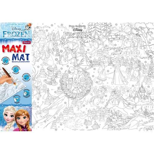 """Раскраска """"Maxi Mat"""".""""Frozen"""" 480*680 741966"""
