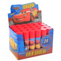 """Клей-карандаш 8г, PVA """"Cars"""""""