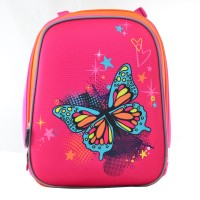 Рюкзак школьный каркасный 1 Вересня H-12 Butterfly blue, 38*29*15
