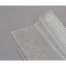 Обложка для книг PVC (24,5 см*47 см), с одност. фиксат.180 мкм, глиттер