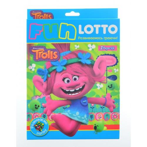 """Игровой набор """"Funny loto"""" """"Trolls"""" 953674"""