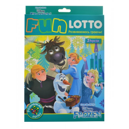 """Игровой набор """"Funny loto"""" """"Frozen"""" 953676"""