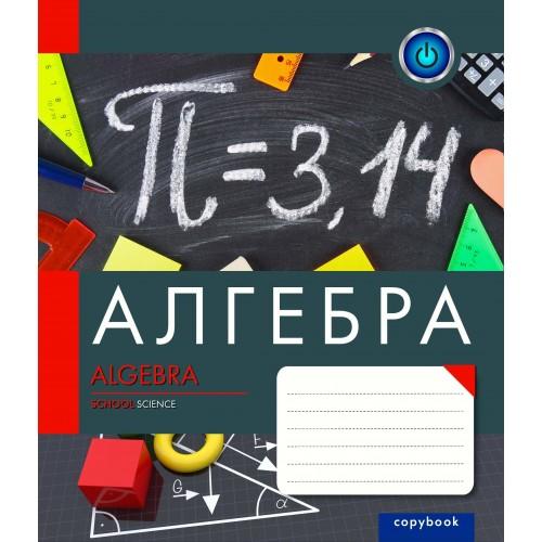 А5/48 кл. 1В ПРЕДМЕТКА - АЛГЕБРА (College) тетрадь ученич 763146