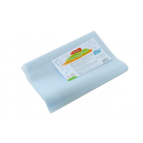 Обложка для книг прозр.PVC(37см*23см),с лип.слоем, 80мкм, матов. 910845