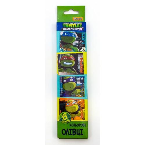 """Карандаши 6 цв. """"Ninja Turtles"""" 290297"""
