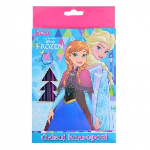"""Карандаши 18 цв. """"Frozen"""" 290460"""