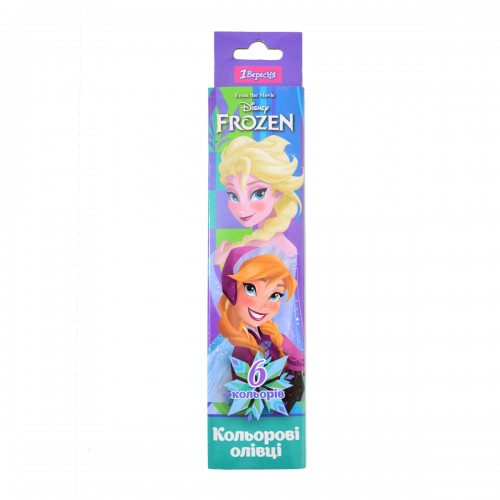 """Карандаши 6 цв. """"Frozen"""" 290524"""
