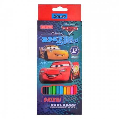 """Карандаши 12 цв. """"Cars"""" 290536"""