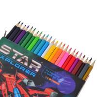 "Карандаши 24 цв. ""Star Explorer"""