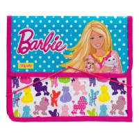 """Папка для тетрадей пласт. на резинке В5 """"Барби"""""""