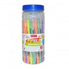 Ручка шариковая 1Вересня Smartline 0,6 мм синяя