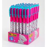 """Ручка 1 Вересня шариковая масляная. """"Мишка Тедди"""" синяя, 0,6 мм, 36шт в дисплей боксе"""