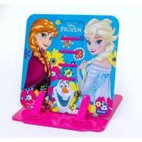 """Подставка для книг 1 Вересня цветная металлическая """"Frozen"""""""