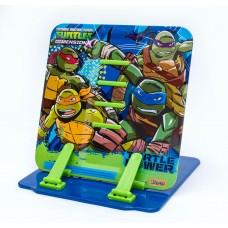 """Подставка для книг 1 Вересня цветная металлическая """"Ninja Turtles"""""""