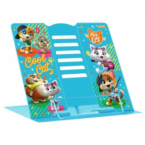"""Подставка для книг 1Вересня """"44 Cats"""" металлическая 470468"""