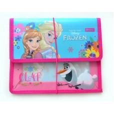 """Папка для тетрадей пласт. на резинке  В5 """"Frozen"""""""