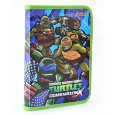 """Папка для тетрадей пласт. на молнии  В5 """"Ninja Turtles"""""""