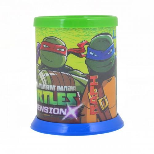 """Стакан для письменных принадлежностей разборной """"Ninja Turtles"""" 491194"""