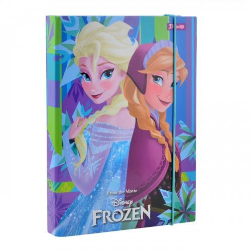 """Папка для тетрадей 1Вересня картонная В5 """"Frozen"""" 491672"""