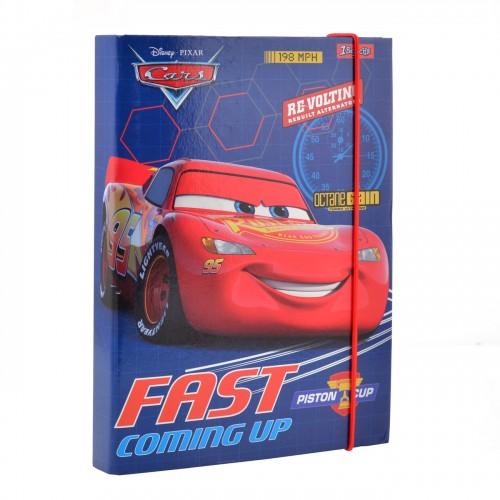"""Папка для тетрадей картонная В5 """"Cars"""" 491673"""