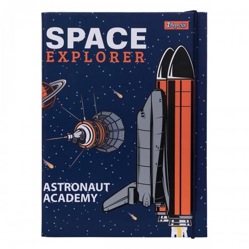 """Папка для тетрадей 1Вересня картонная В5 """"Space"""" 491806"""