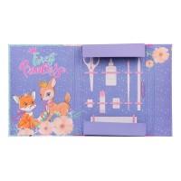 """Папка для труда 1Вересня картонная A4 """"Forest princesses"""""""