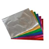 Набор цв. бумага метал. А 4 (10л/10цв) п/э