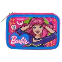 """Пенал твердый 1 Вересня двойной HP-01 """"Barbie"""""""