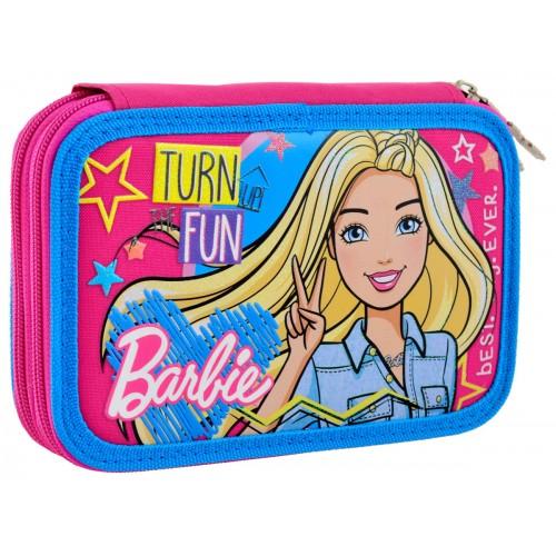 """Пенал твердый 1Вересня двойной HP-01 """"Barbie"""" 532111"""