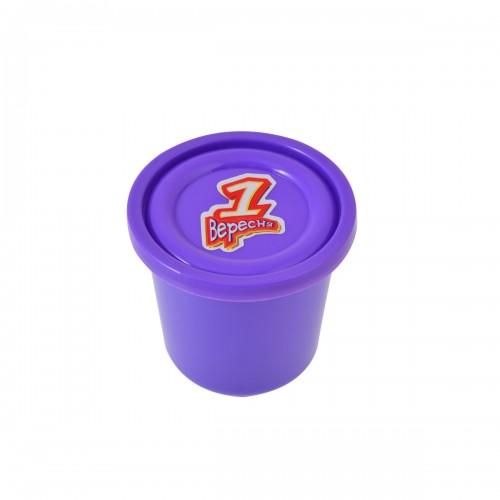 """Пластилиновая паста """"Веселое тесто"""", 60гр фиолетовая 540466"""