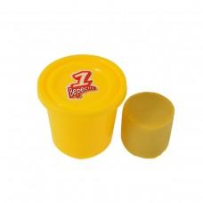 """Пластилиновая паста """"Веселое тесто"""", 60гр желтая"""