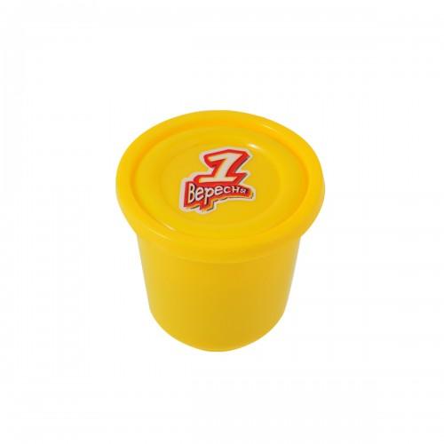 """Пластилиновая паста """"Веселое тесто"""", 60гр желтая 540467"""