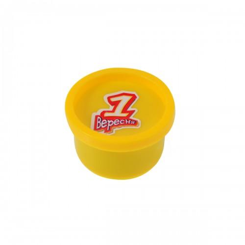 """Пластилиновая паста """"Веселое тесто"""", 30гр желтая 540472"""