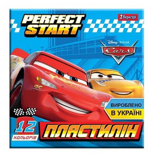 """Пластилин 1Вересня 12 цв. """"Cars"""", Украина 540547"""