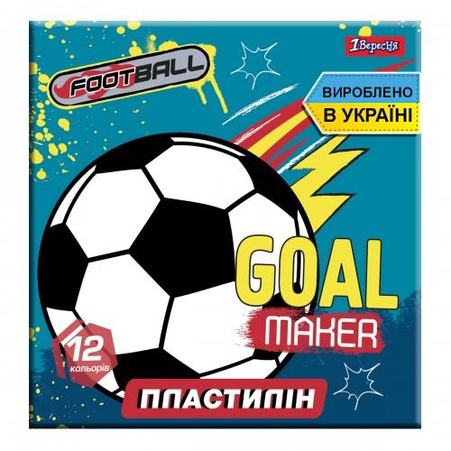 "Пластилин 1Вересня 12 цв. ""Team football"", Украина 540548"