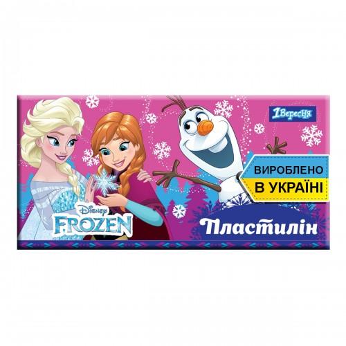 "Пластилин 1Вересня 6 цв. ""Frozen"", Украина 540551"