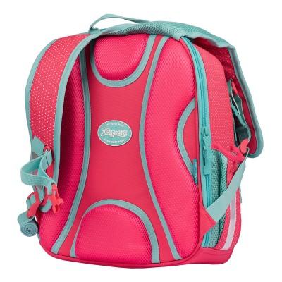 """Рюкзак школьный 1Вересня S-106 """"Bunny"""", розовый/бирюзовый"""