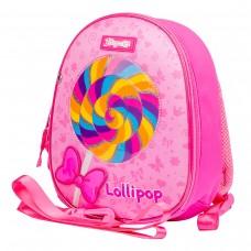 """Рюкзак детский 1Вересня K-43 """"Lollipop"""", розовый"""