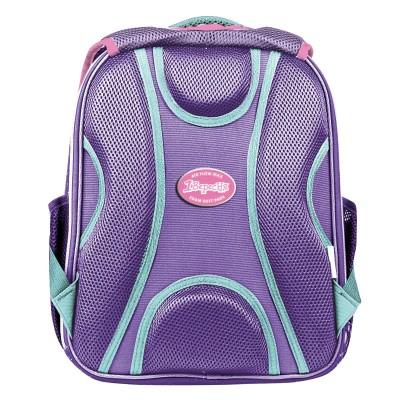 """Рюкзак школьный 1Вересня S-106 """"Corgi"""", фиолетовый"""