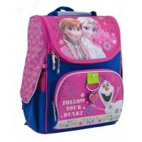 Рюкзак 1 Вересня каркасный  H-11 Frozen rose, 34*26*14