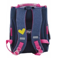 Рюкзак 1 Вересня каркасный  H-11 Sofia blue, 34*26*14