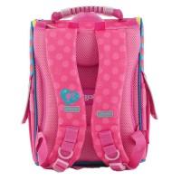 Рюкзак 1 Вересня каркасный  H-11 Barbie rose, 34*26*14