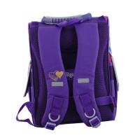 Рюкзак 1 Вересня каркасный  H-11 EAH purple, 34*26*14